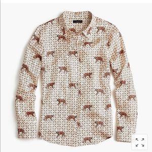 J crew- Brand new silk blouse